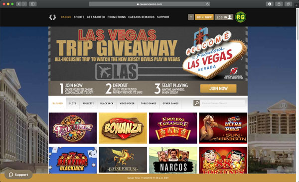 USA Online Casino game
