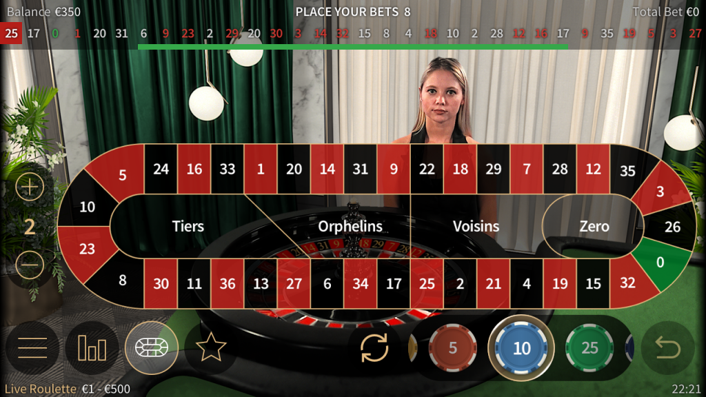 Popularity of roulette game in Australia