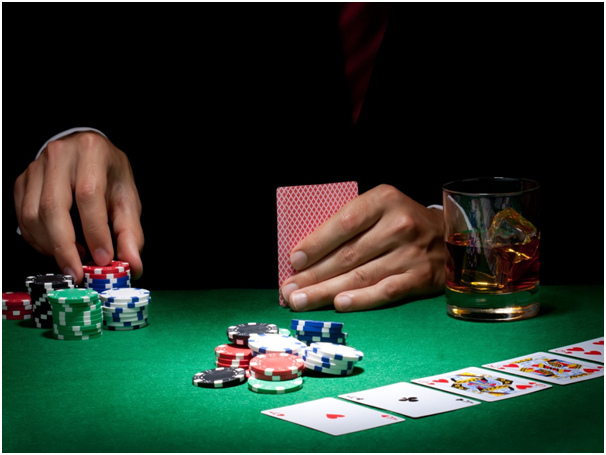 Is it a good idea to re buy into a poker table, and should you change your approach to playing if you do?